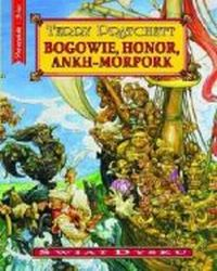 Bogowie, honor, Ankh-Morpork, Pratchett Terry